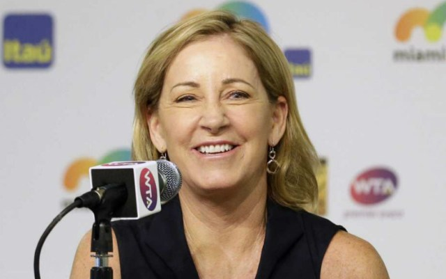 Chris Evert: Osaka still has a lot to learn, both on and off the court