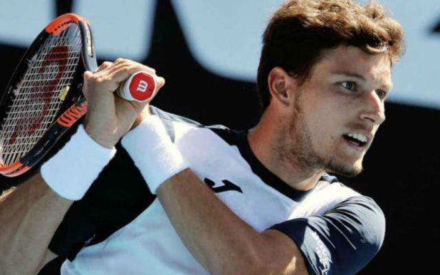 Cordova Pablo Carreno-Busta withdrew from the second round match