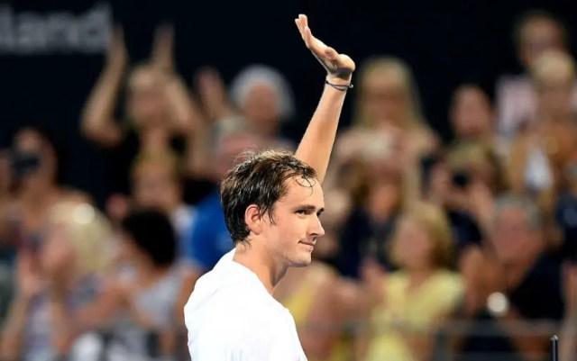Daniil Medvedev lost at the start of the tournament in Dubai
