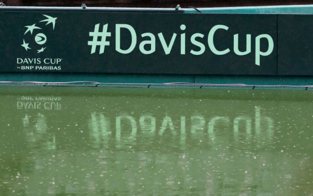 Davis Cup. All results of the first qualifying day of the game