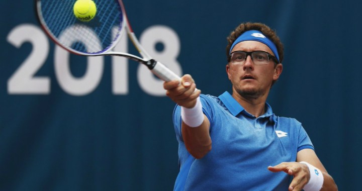 Denis Istomin withdrew from the tournament in New York