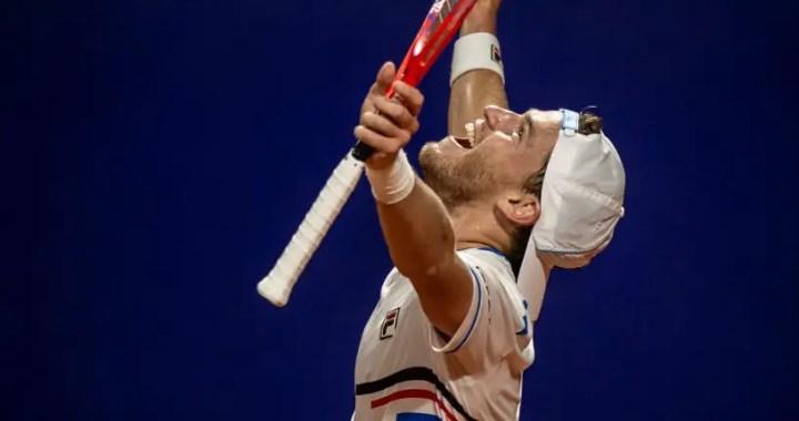 Diego Schwartzman won the quarterfinals of the tournament in Buenos Aires