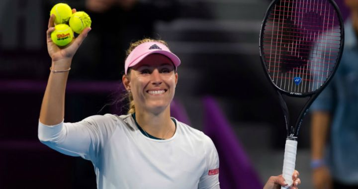 Doha Angelique Kerber reached the semifinals