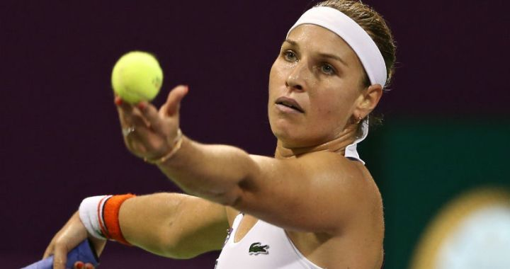 Dominika Cibulkova: I got sick in St. Petersburg