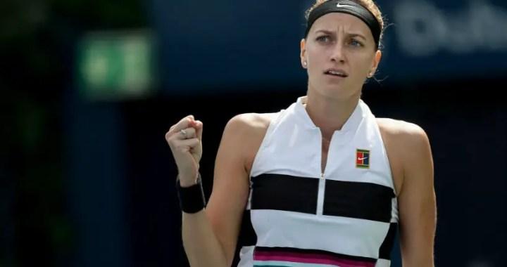 Dubai Petra Kvitova reached the quarterfinals