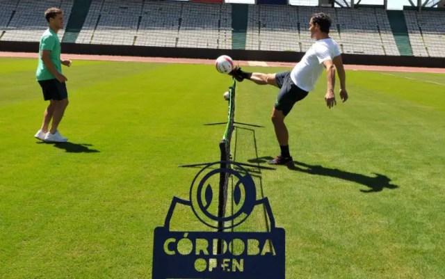 Fabio Fognini played football in training (VIDEO)