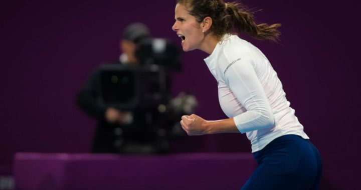 Julia Goerges will play in the quarter finals of the tournament Qatar Total Open
