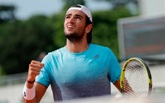 Matteo Berrettini: I am very happy to beat Khachanov