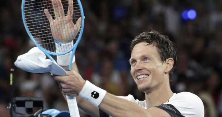 Montpellier. Tomas Berdych won a strong-willed victory in the first round