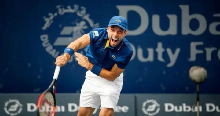 Roberto Bautista-Agut leaves the tournament in Dubai