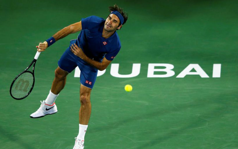 Roger Federer won the starting match of the tournament in Dubai_5c742581439bc.jpeg