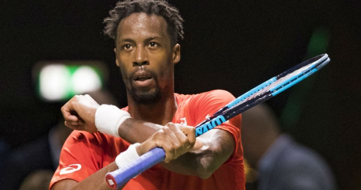 Rotterdam. Gael Monfils won a strong-willed victory in the second round