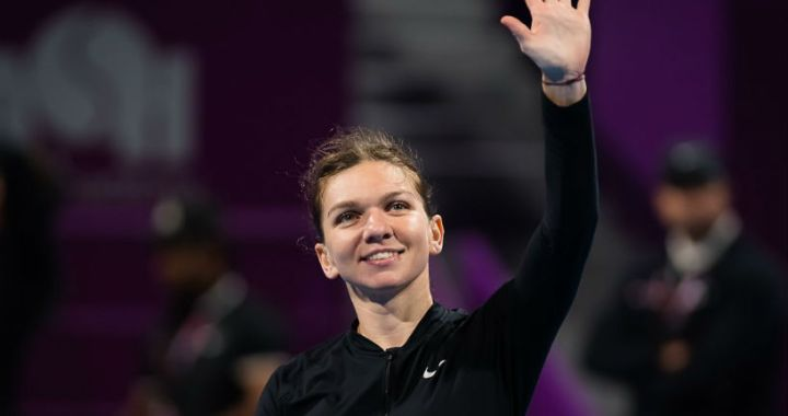 Simona Halep will play in the semifinals of the Doha tournament