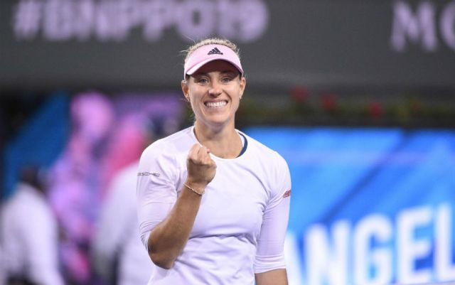 Angelique Kerber entered to the third round of the Miami Open