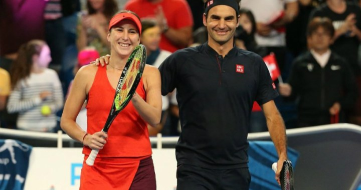 Belinda Bencic: I'm glad that Federer is worried about my health