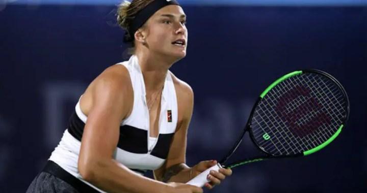 BNP Paribas Open. Aryna Sabalenka took over Lesia Tsurenko