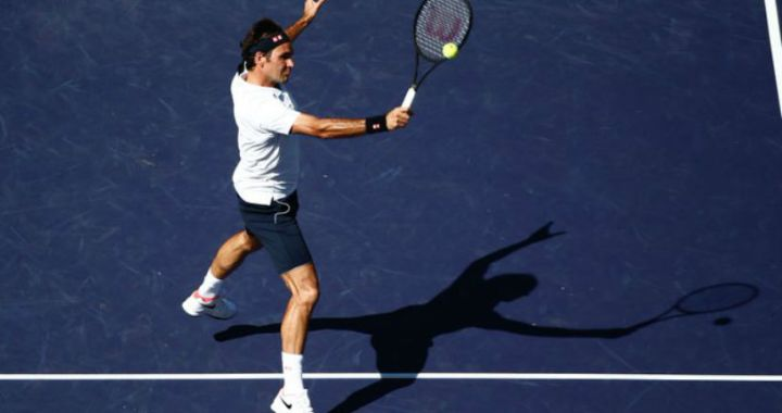 BNP Paribas Open. Roger Federer reached the quarterfinals