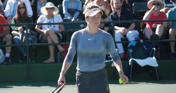 Elina Svitolina lost in the second round of the Miami Open competition