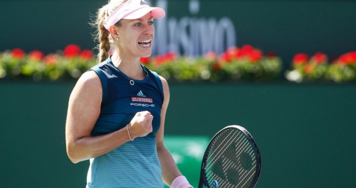 Indian Wells. Angelique Kerber gave only two games to Yulia Putintseva