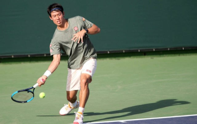 Indian Wells. Kei Nishikori was defeated in the third round