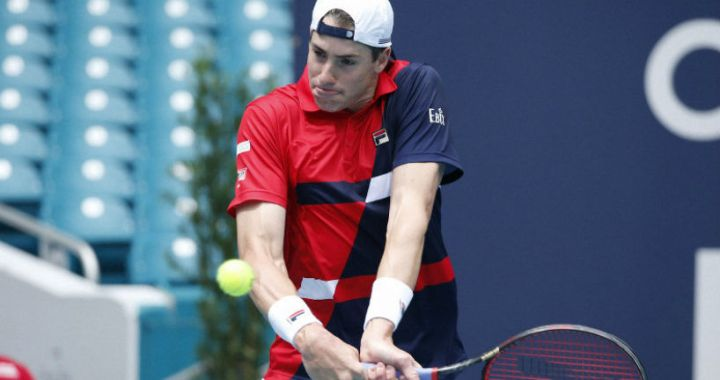 "John Isner became the semifinalist ""Masters"" in Miami"