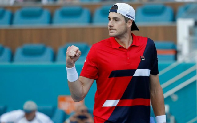 "John Isner came out in the fourth round of ""Masters"" in Miami"