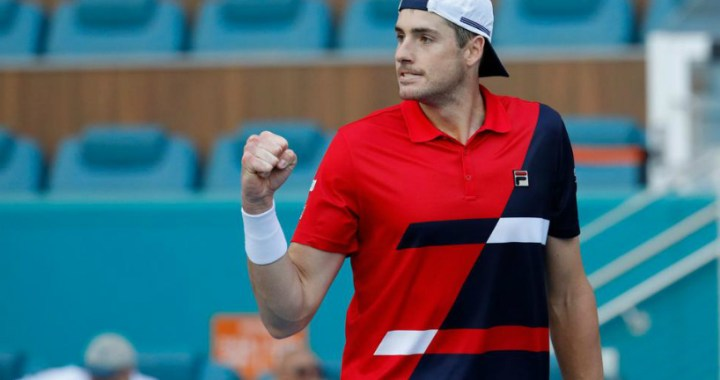 """John Isner came out in the fourth round of """"Masters"""" in Miami"""