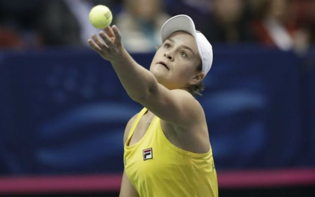 Miami. Ashleigh Barty will play in the fourth round