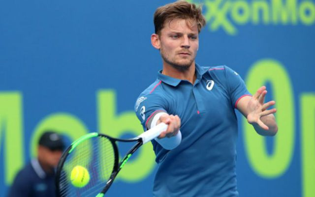 Miami. David Goffin won his starting match in the tournament