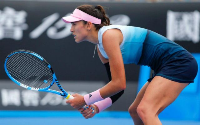 Miami. Garbine Muguruza was defeated in the second round