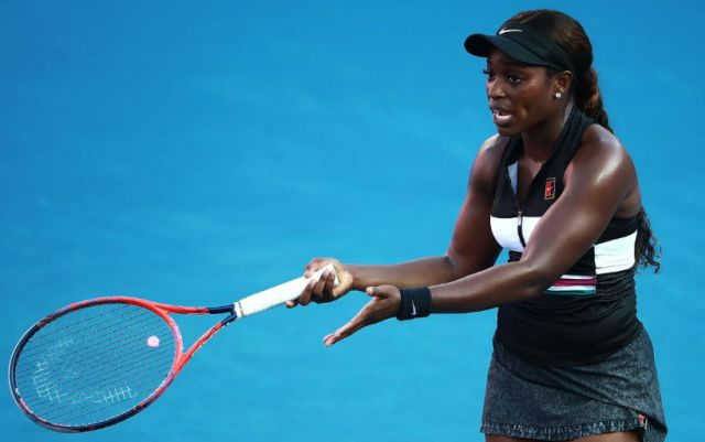 Miami. Sloane Stephens defeated Ons Jabeur