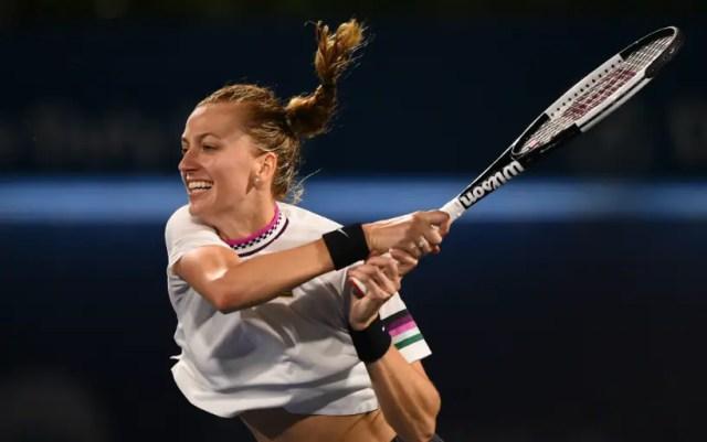 Petra Kvitova won her first match in Miami