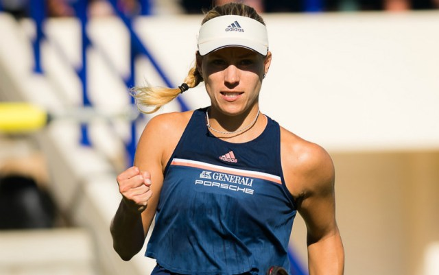 Angelique Kerber continues to fight for the main trophy of the tournament in Stuttgart
