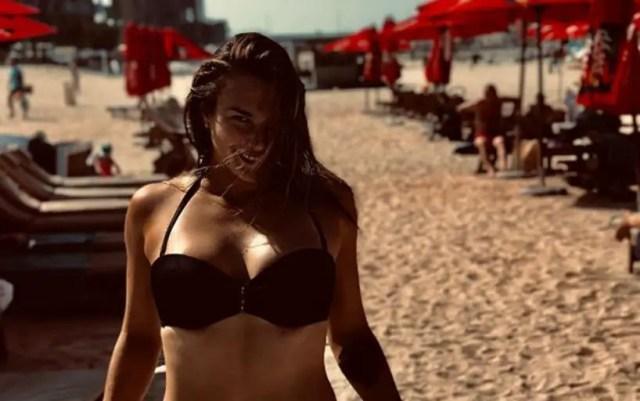 Aryna Sabalenka posted a photo in a swimsuit