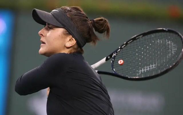 Bianca Andreescu got a shoulder injury