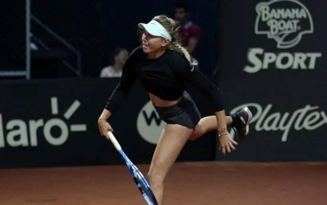 Bogota. Amanda Anisimova became the semifinalist of the competition