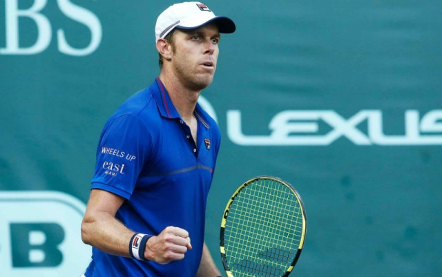 Houston. Sam Querrey on two tiebreaks overpowered Janko Tipsarevic