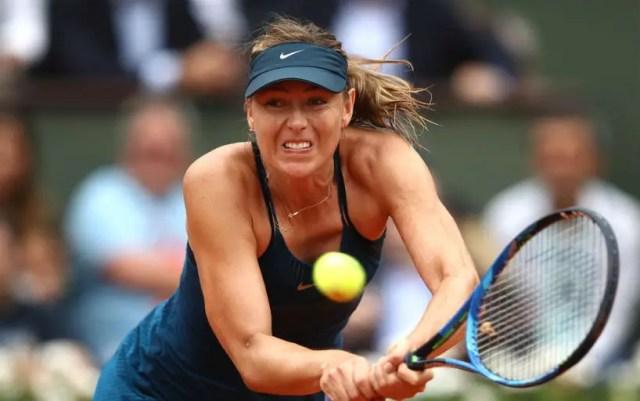 Maria Sharapova withdrew from the tournament in Stuttgart