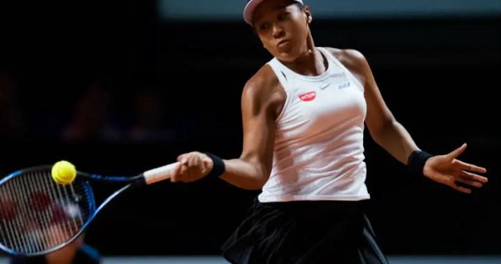 Naomi Osaka continues performance in Stuttgart