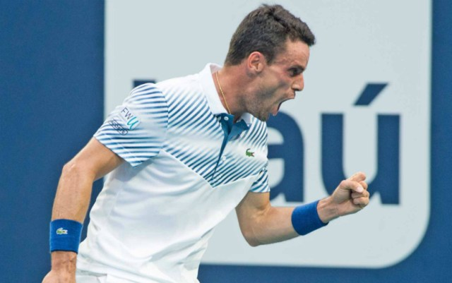 Rolex Monte-Carlo Masters. Roberto Bautista-Agut won a strong-willed victory in the first match