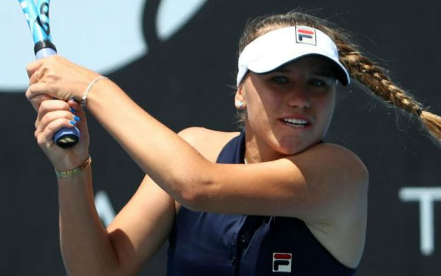 Sofia Kenin: I try to focus on Maria Sharapova