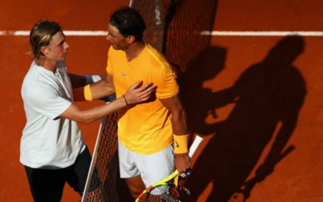 Denis Shapovalov: Learned to play on the ground, watching the matches Nadal