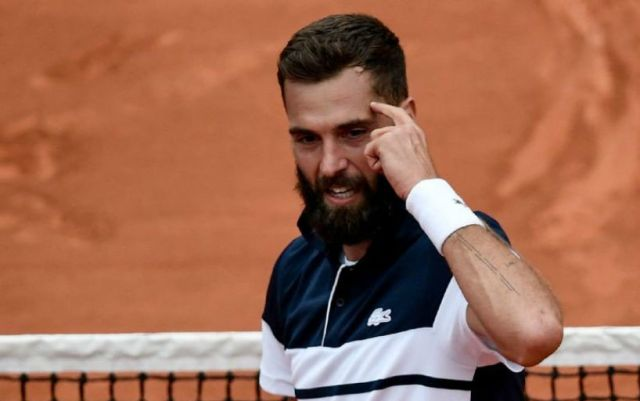 French Open. Benoit Paire took part in the 1/8 finals