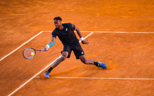 Gael Monfils leaves the Masters in Rome