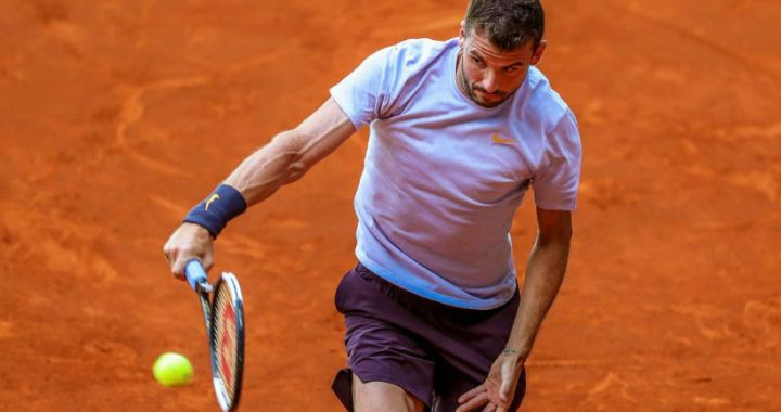 "Grigor Dimitrov completed the performance at the ""Masters"" in Rome"