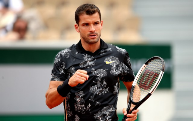 Grigor Dimitrov: Waking up in the morning, I always hope that my shoulder will not hurt