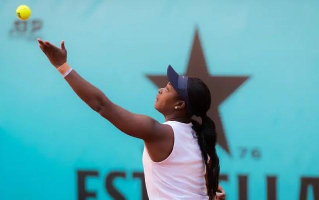 Madrid. Sloane Stephens defeated Victoria Azarenka