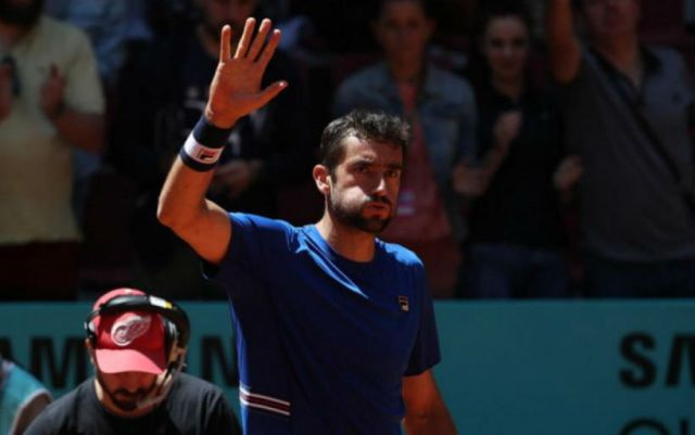 Marin Cilic withdrew from the tournament in Madrid, Novak Djokovic went to the semifinals