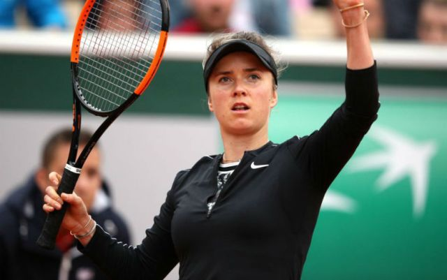 Paris. Elina Svitolina defeated by Garbine Muguruza