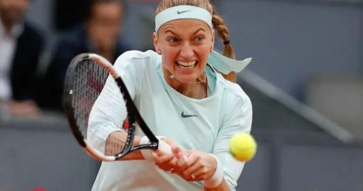 Petra Kvitova beat Caroline Garcia in Madrid